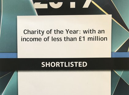 Charity Times 2019 Shortlist